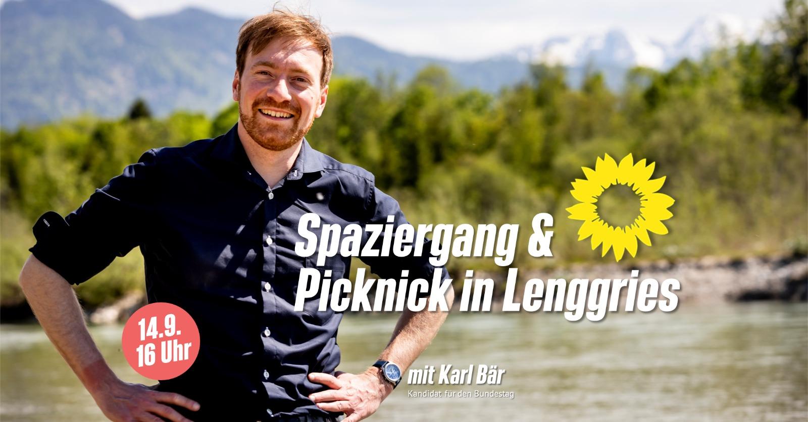 Spaziergang und Picknick mit Karl Bär