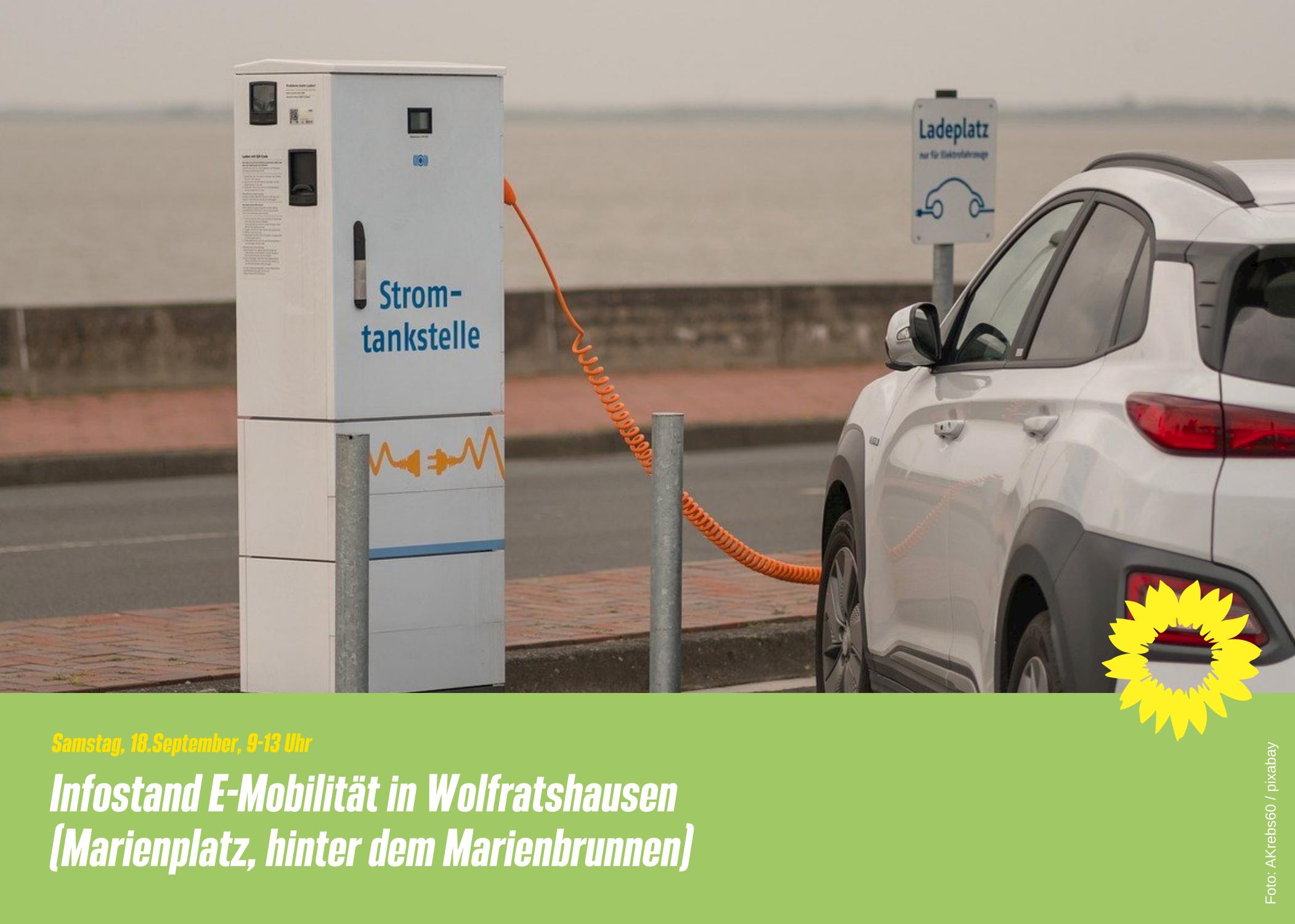 Infostand E-Mobilität in Wolfratshausen